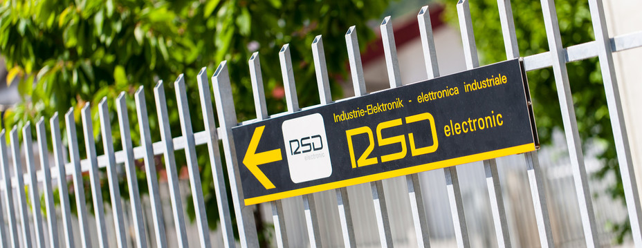 Signpost to the company RSD-electronic.