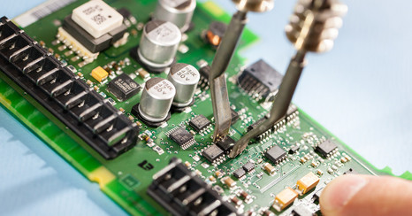 Repair of indramat drive technology - industrial electronic.