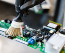 Professional cleaning of industrial electronics, RSD