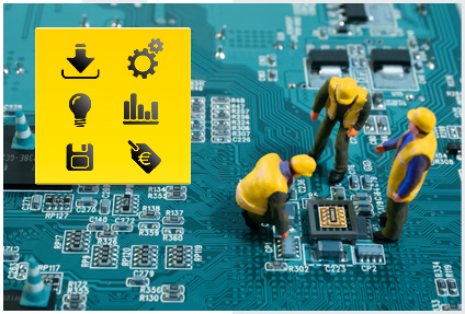 Repair of industrial electronics, RSD-electronic, Italy