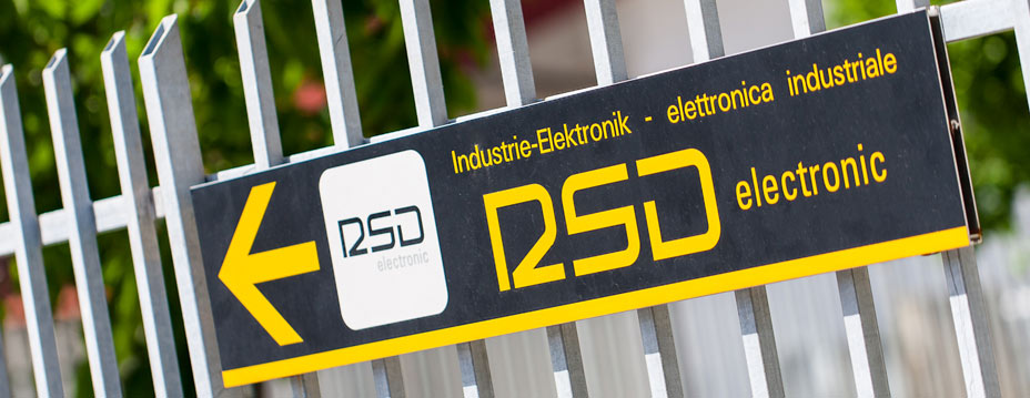 RSD-electronic sign, industrial electronic, Italy